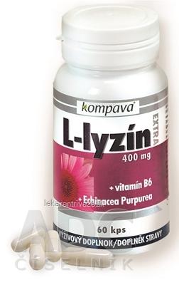 kompava L-LYZÍN EXTRA 400 mg cps 1x60 ks