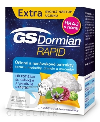 GS Dormian Rapid cps (súťažná edícia 2019) 1x40 ks