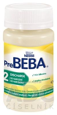 Nestlé Pre BEBA 2 Discharge (dietetická potravina pre dojčatá od narodenia) inov. 2016, 1x90 ml