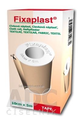 FIXAplast Cievková náplasť textilná 10cm x 5m, 1x1 ks