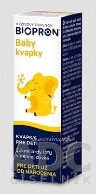 BIOPRON Baby kvapky pre deti 1x10 ml