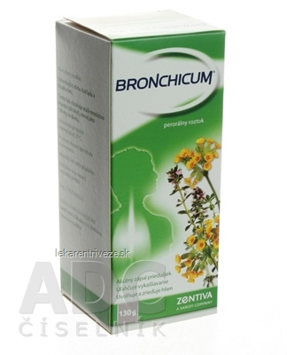 BRONCHICUM sol por (fľ.skl.) 1x100 ml (130 g)