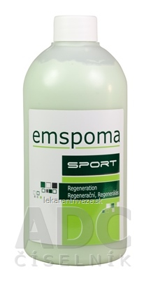 EMSPOMA Regeneračná Z - zelená masážna emulzia 1x500 ml