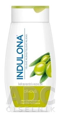 INDULONA olivová telové mlieko 1x250 ml