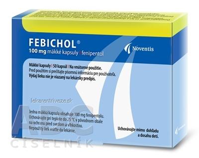 FEBICHOL cps mol 100 mg (blis.PVC/Al) 1x50 ks