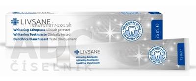 LIVSANE Bieliaca Zubná pasta 1x75 ml