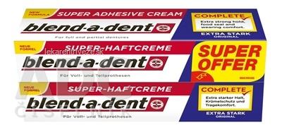blend-a-dent EXTRA STARK ORIGINAL Duo pack (super fixačný dentálny krém) 2x47 g