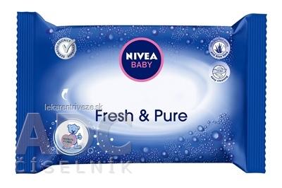 NIVEA BABY Čistiace obrúsky FRESH&PURE 1x63 ks