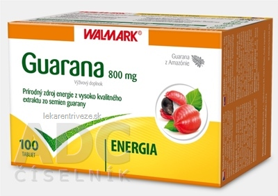 WALMARK GUARANA 800 mg tbl 1x100 ks