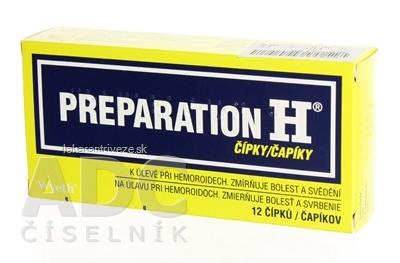 PREPARATION H sup (strip PVC/PE) 1x12 ks