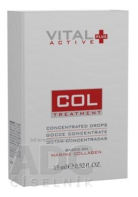 VITAL PLUS ACTIVE COL (koncentrované kvapky s morským kolagénom) 1x15 ml