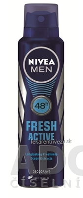 NIVEA MEN SPREJ DEO FRESH ACTIVE 1x150 ml