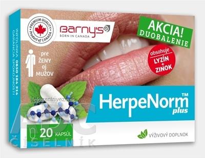 BARNYS HerpeNorm plus cps 1x20 ks