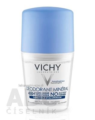 VICHY DEO MINERAL deodorant (M9174400) 1x50 ml