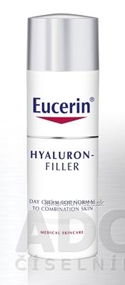 Eucerin HYALURON-FILLER denný krém proti vráskam intenzívny vyplňujúci krém pre normálnu a zmiešanú pleť 1x50 ml