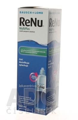 ReNu MultiPlus roztok na kontaktné šošovky (modrý) 1x360 ml