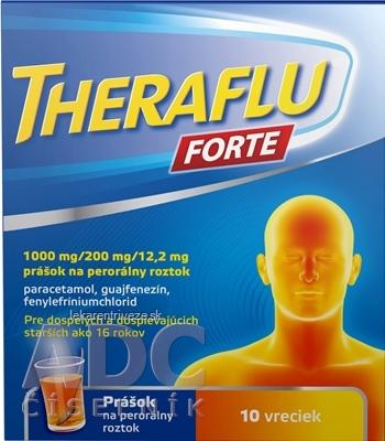 THERAFLU FORTE plo por 1000 mg/200 mg/12,2 mg 1x10 ks