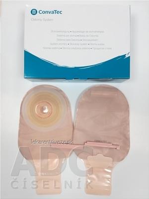ESTEEM+ Flex Convex vrecko výpustné konvexné, ileostomické, s filtrom, nepriehľadné, s kontrolným okienkom, V1, 20-43 mm 1x10 ks