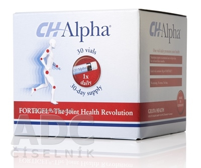 CH-Alpha ampulky na pitie (á 25 ml) 1x30 ks