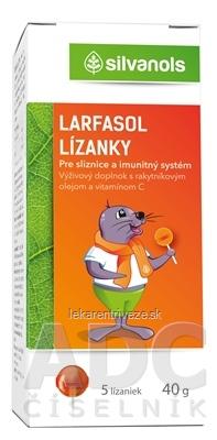 silvanols LARFASOL lízanky 1x5 ks
