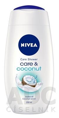 NIVEA Sprchový gél Care&Coconut 1x250 ml