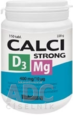 Vitabalans CALCISTRONG+Mg+D3 tbl 1x150 ks
