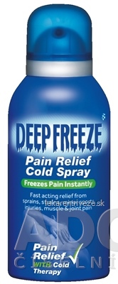 Deep Freeze Pain Relief Cold Spray chladivý sprej 1x150 ml