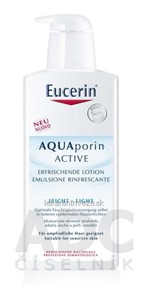 Eucerin AQUAporin ACTIVE Telové mlieko pre normálnu pokožku 1x400 ml