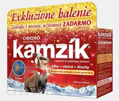 Cemio Kamzík Vianoce 2017 cps 1x60 ks