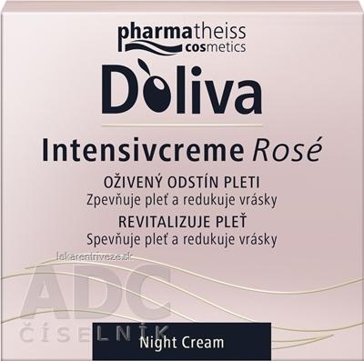 DOLIVA Intenzívny krém ROSÉ nočný 1x50 ml