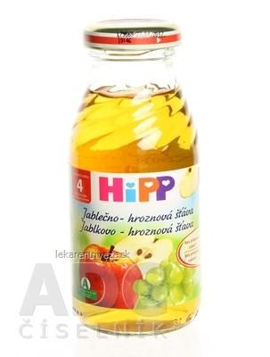 HiPP Šťava jablkovo - hroznová (od ukonč. 4. mesiaca) 1x200 ml