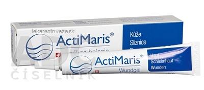 ActiMaris Gél (Wundgel) na hojenie rán, na kožu a sliznice, 1x20 g