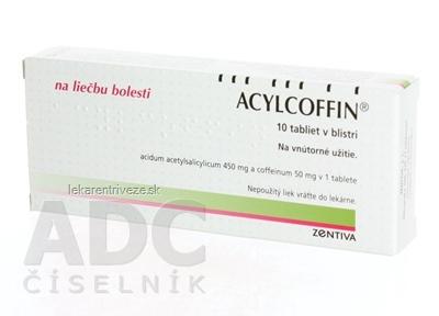 ACYLCOFFIN tbl 450 mg/50 mg (blis.PVC/Al) 1x10 ks