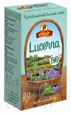 AGROKARPATY BIO Lucerna siata, Antireumatický čaj bylinný čaj, čistý prírodný produkt, 20x2 g (40 g)
