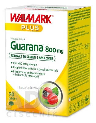 WALMARK Guarana 800 mg tbl 1x90 ks