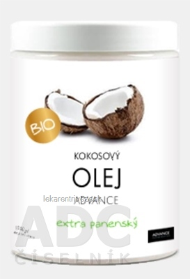 ADVANCE Kokosový olej BIO 1x1000 ml