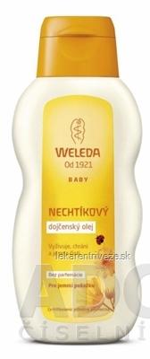 WELEDA NECHTÍKOVÝ dojčenský olej (Calendula Pflegeöl) 1x200 ml