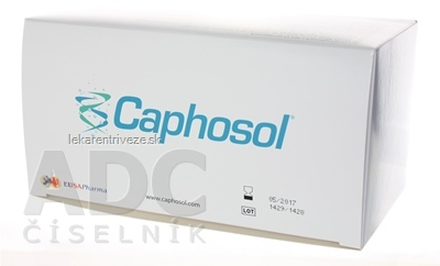 Caphosol monodóz 30 dávok (2 ampuly po 15 ml = 1 dávka) 2x30 amp