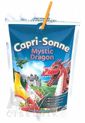 Capri-Sonne Mystic Dragon pasterizovaný ovocný nápoj 1x200 ml