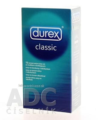 DUREX Classic kondóm 1x12 ks