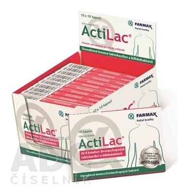 FARMAX ActiLac box cps 10x10 ks (100 ks)