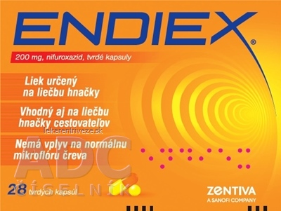 ENDIEX cps dur 200 mg (blister PVC/Al) 1x28 ks