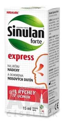 Sinulan forte express nosový sprej 1x15 ml