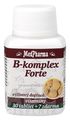 MedPharma B-komplex Forte tbl 30+7 zadarmo (37 ks)