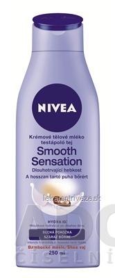 NIVEA TELOVÉ KRÉMOVE MLIEKO Smooth Sensation 1x250 ml