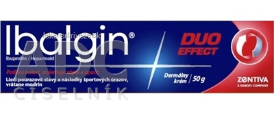 Ibalgin DUO EFFECT crm der (tuba Al) 1x50 g