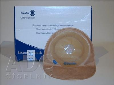 ESTEEM+ Vrecko stomické uzavreté jednodielne, prestrih. otvor, nepriehľadné, stredné, s filtrom 30 mm, 1x30 ks