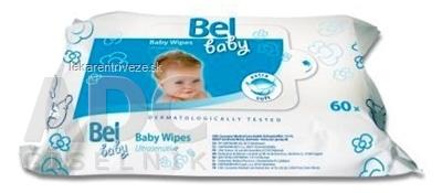 Bel baby Baby Wipes - vlhké utierky 1x60 ks