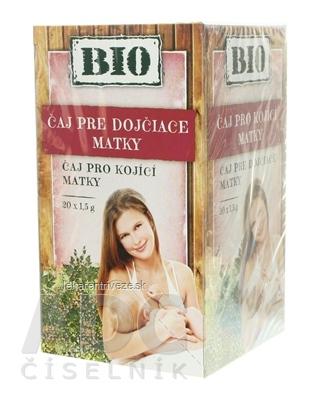 HERBEX BIO TEA PRE KOJACE MATKY bylinný čaj 20x1,5 g (30 g)
