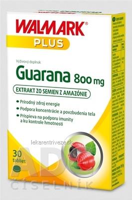 WALMARK Guarana 800 mg (inov. obal 2019) tbl 1x30 ks